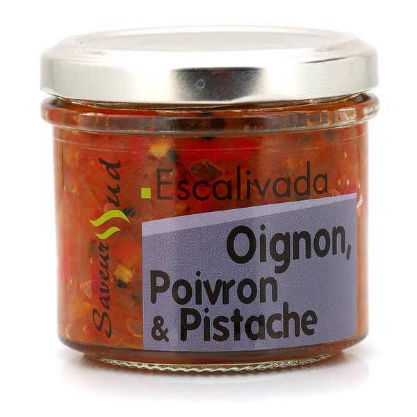 Saveurs Sud Légumes à tartiner Escalivada (Oignon, Poivron, Pistache) - Pot 110g