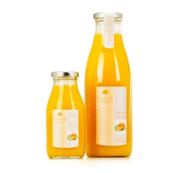 Emmanuelle Baillard Pur jus d'orange - Lot de 6 bouteilles 75cl
