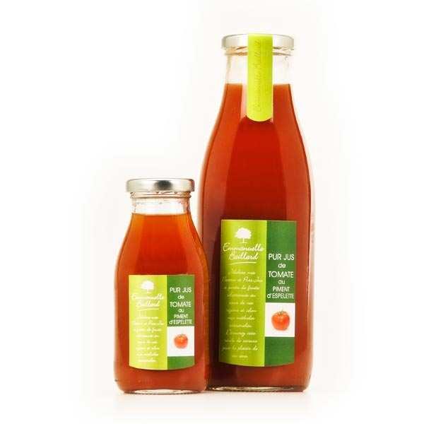Emmanuelle Baillard Pur jus de tomate au piment d'Espelette - Lot de 3 bouteilles 75cl