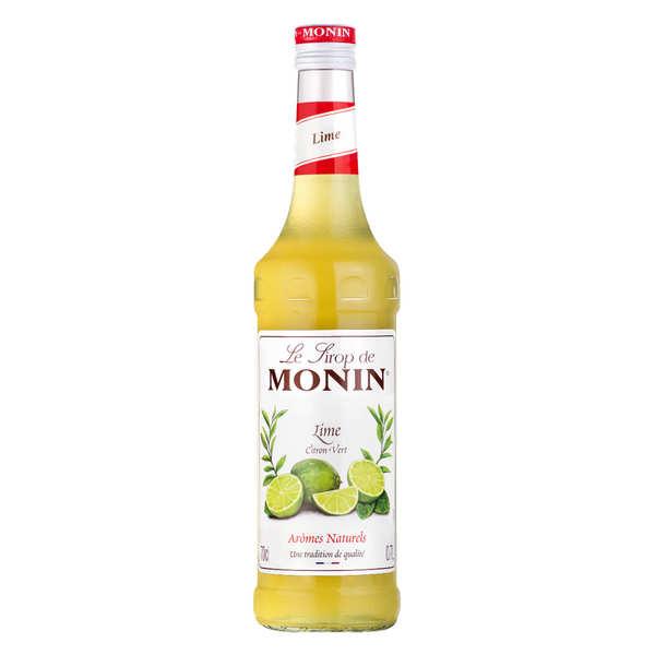 Monin Sirop citron vert Monin - Bouteille 70cl