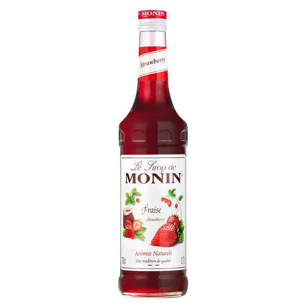Monin Sirop de fraise Monin - Bouteille 70cl