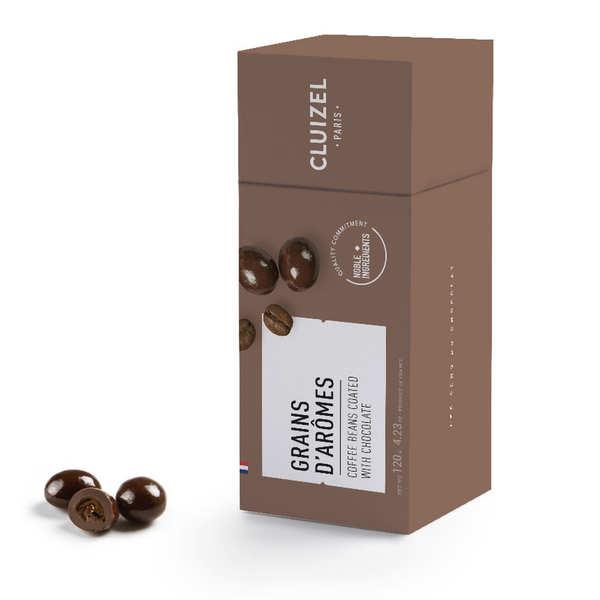 Michel Cluizel Grains de café enrobés de chocolat noir Michel Cluizel - Etui 120g