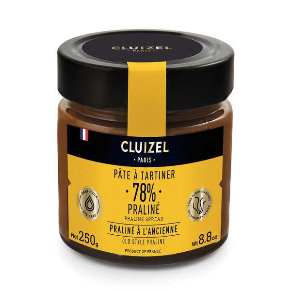 Michel Cluizel Pâte à tartiner praliné 78% Michel Cluizel - pot 250g