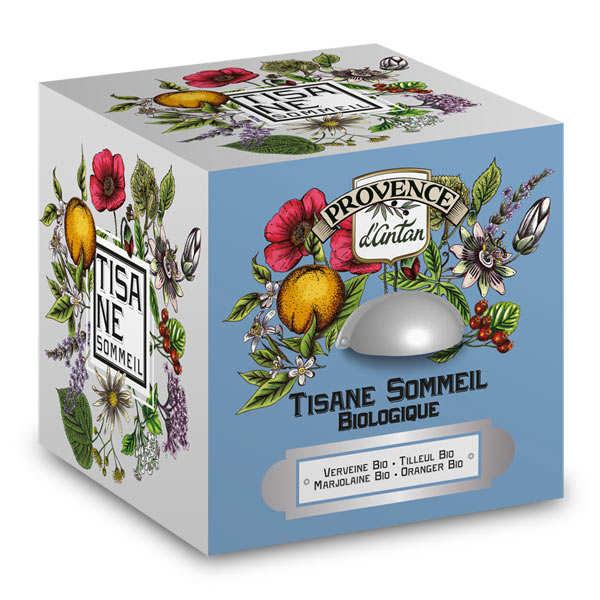 Provence d'Antan Tisane sommeil bio - Boite métal 30 sachets mousseline