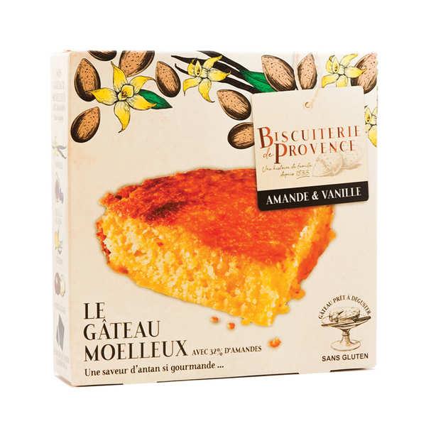 Biscuiterie de Provence Délice de l'amandier – gâteau sans gluten - 3 boîtes de 240g