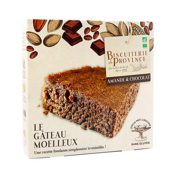Biscuiterie de Provence Délice de l'amandier chocolat– gâteau sans gluten - Boite 240g