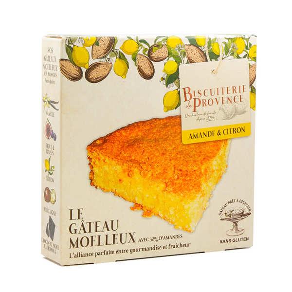 Biscuiterie de Provence Délice de l'amandier citron – gâteau sans gluten - Boite 240g