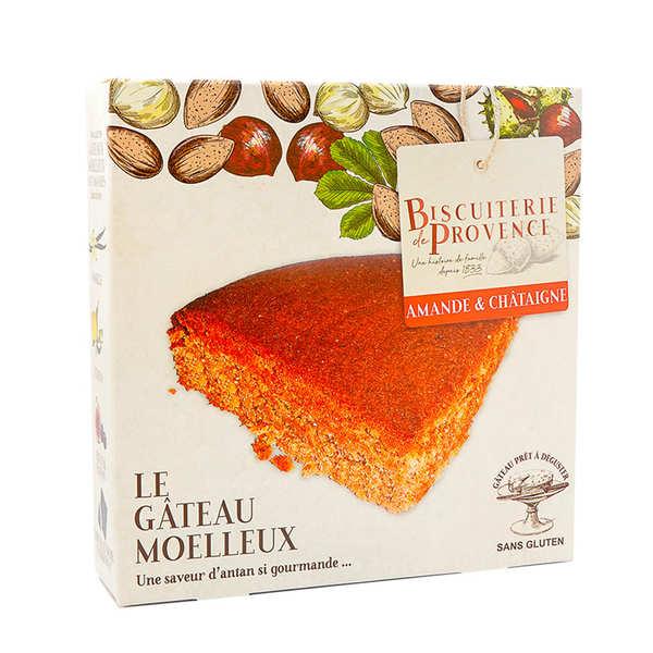 Biscuiterie de Provence Délice du châtaignier - gâteau sans gluten - Boite 240g