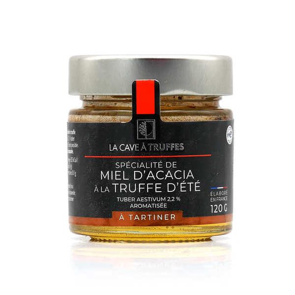 Truffières de Rabasse Miel d'acacia à la truffe d'été - Bocal 120 g