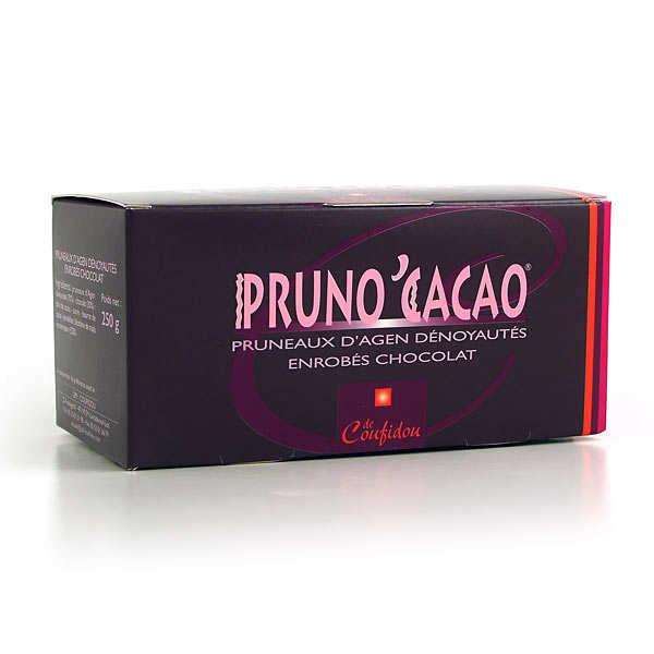 Coufidou Pruneaux enrobés de chocolat - Pruno'Cacao - Ballotin 250g