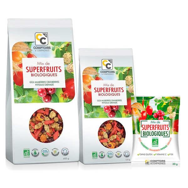 Comptoirs et Compagnies Mix superfruits bio - Lot 3 sachets de 125g