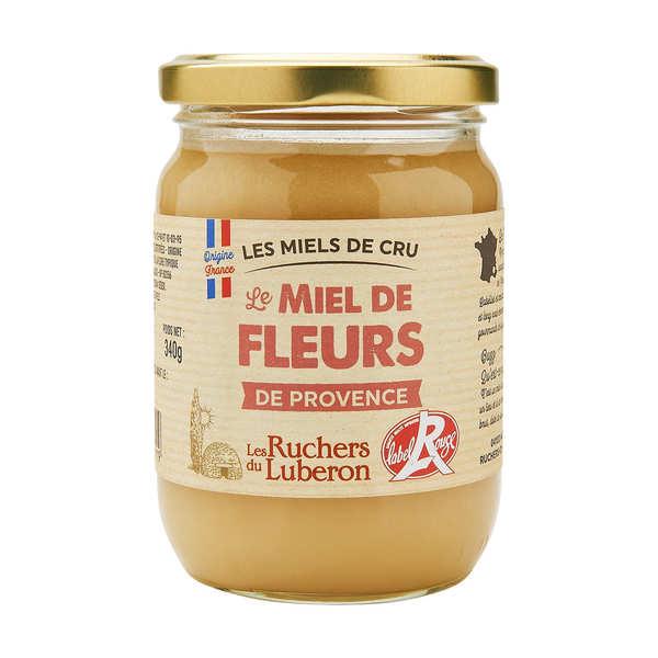 Miel et une tentations Miel de fleurs de Provence label rouge - Pot 340g