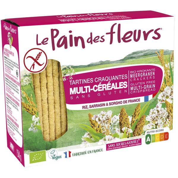 Le Pain des Fleurs multi céréales sans gluten - Paquet 150g