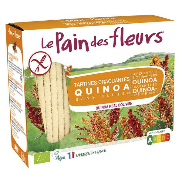 Le Pain des Fleurs au quinoa - sans gluten - 6 paquets de 150g