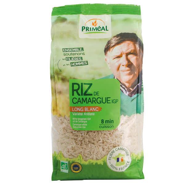 Priméal Riz long blanc de Camargue bio - Sachet 1kg