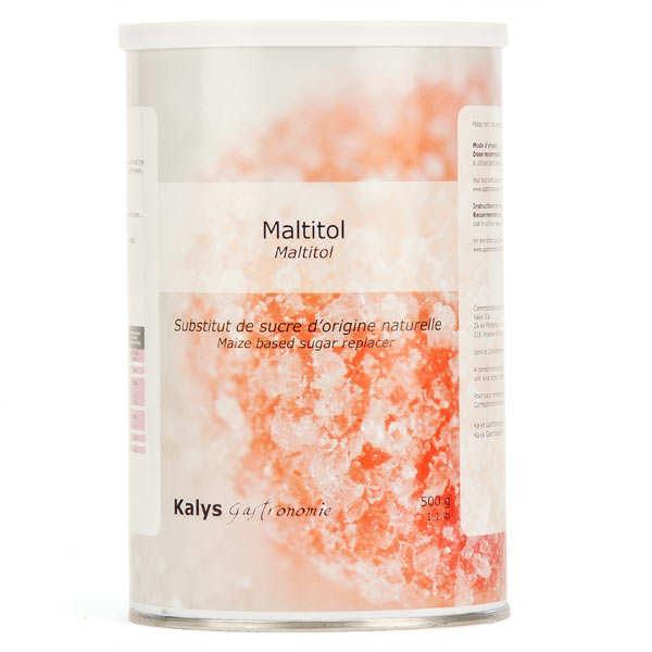 Kalys Gastronomie Maltitol - substitut naturel au sucre - Boite 500g
