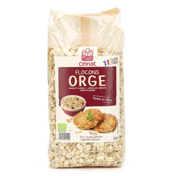 Celnat Flocons d'orge Bio - Sachet 500g