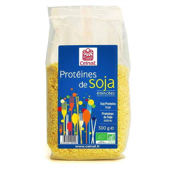 Celnat Protéines de soja émincées bio - Sachet 300g