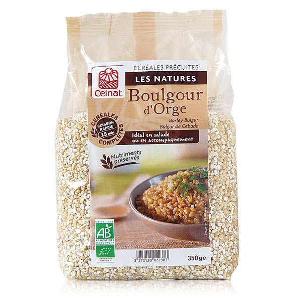 Celnat Boulgour d'orge bio - 8 sachets de 350g