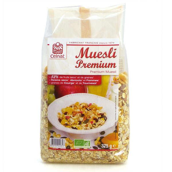 Celnat Muesli Premium bio - 3 sachets de 375g