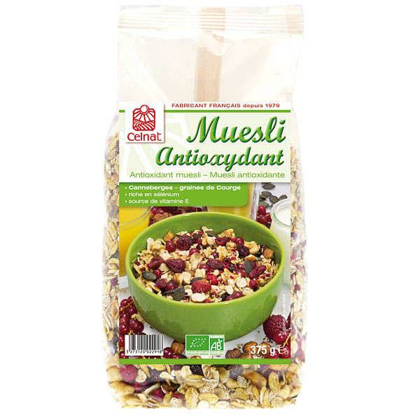 Celnat Muesli antioxydant bio - Sachet 375g