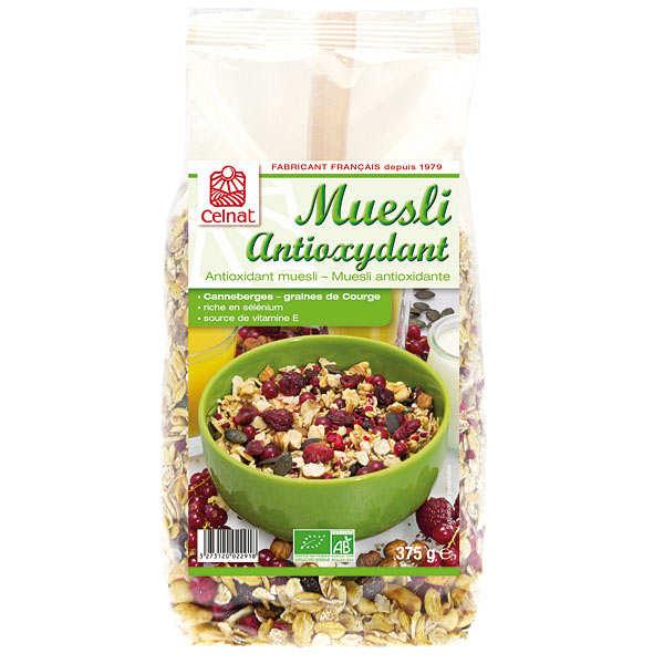 Celnat Muesli antioxydant bio - 3 sachets de 375g