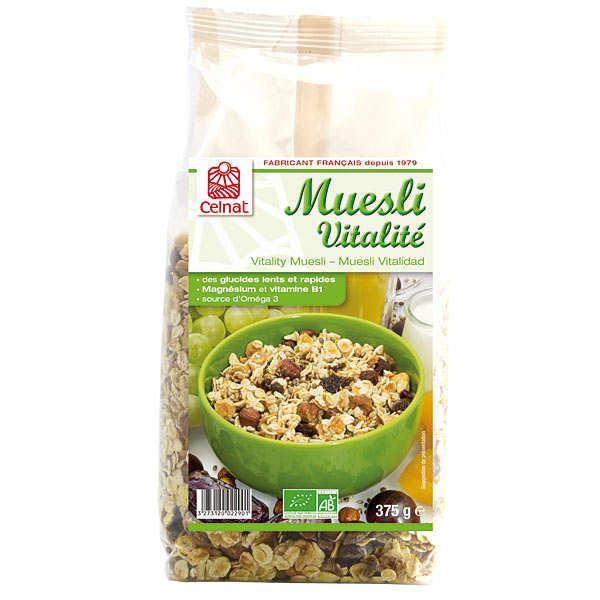 Celnat Muesli vitalité bio - 3 sachets de 375g