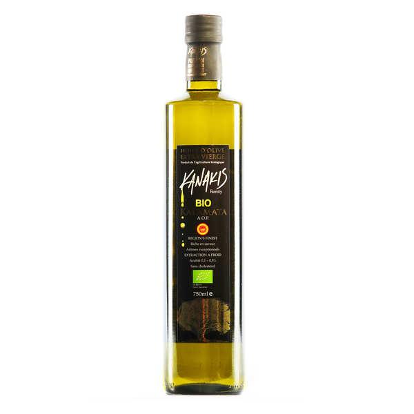 Kanakis Huile d'olive bio grecque - Kanakis - 3 bouteilles de 75cl