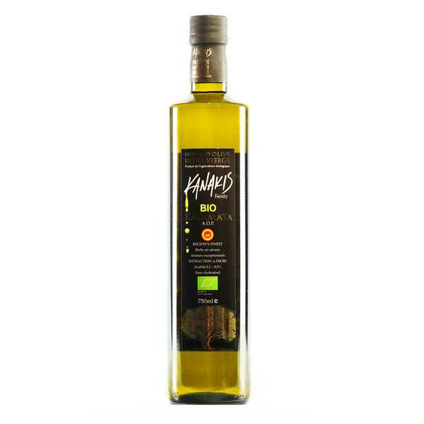 Kanakis Huile d'olive bio grecque - Kanakis - Bouteille 75cl