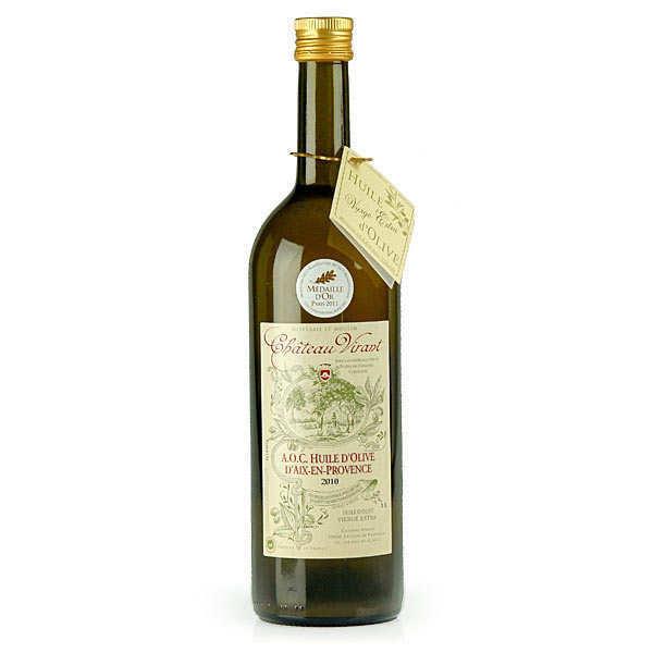Château Virant Huile d'olive Château Virant AOP Aix en Provence - Lot 12 bouteilles de 1L