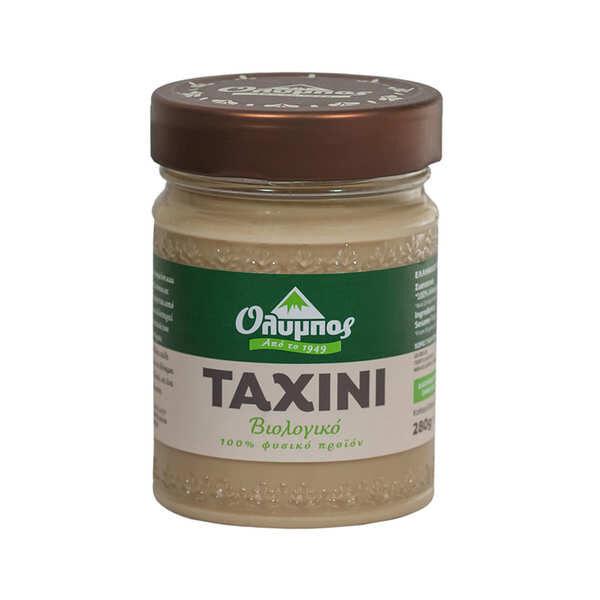 Olympos Tahini grec (crème de sésame 100%) bio - 3 pots de 280g