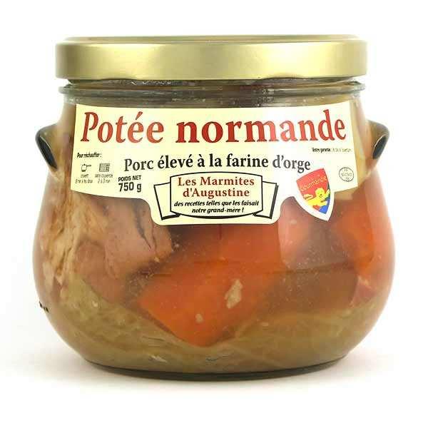La Chaiseronne Potée Normande - Porc élevé à la farine d'orge - Bocal 750 g