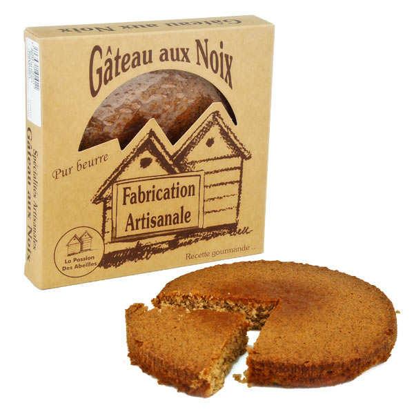 La Passion des Abeilles Gâteau aux noix pur beurre Bio - Gâteaux 220g