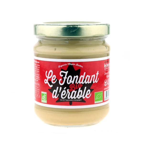 Ferme Vifranc Inc. Fondant d'érable bio du Canada (appelé beurre d'érable au Québec) - Lot 3 bocaux de 250g