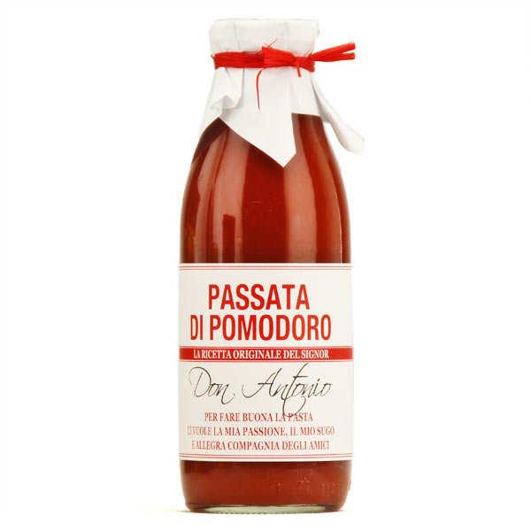 Don Antonio Passata di Pomodoro - coulis de tomate - Lot de 3 bouteilles de 500g