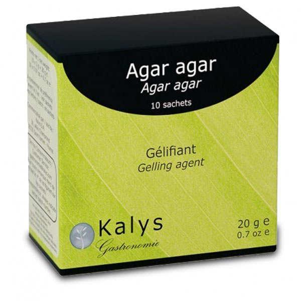Kalys Gastronomie Agar agar en poudre - Boite de 10 sachets de 2g