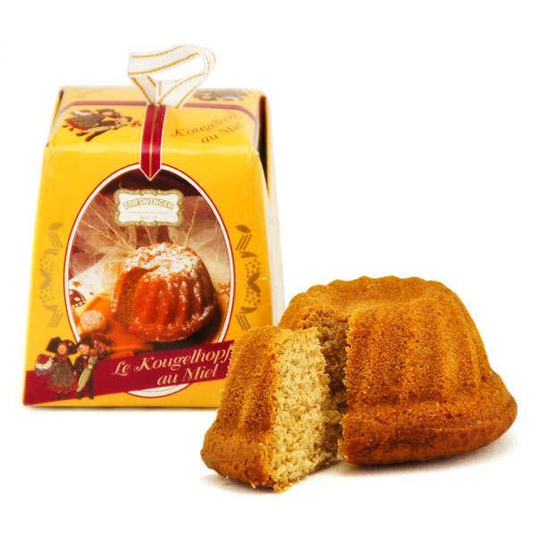 Fortwenger Mini Kougelhopf de pain d'épices au miel - Boite 150g