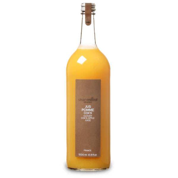 Alain Milliat Jus de pomme Cox's - A. Milliat - 6 bouteilles de 1L