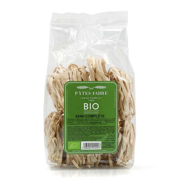 Pâtes Fabre Tagliatelles bio au blé dur semi-complet - Sachet 250g