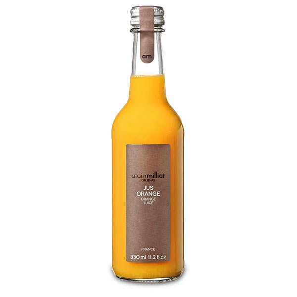 Alain Milliat Pur jus d'orange - Alain Milliat - 3 bouteilles de 1L