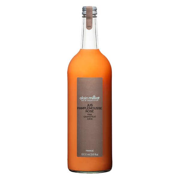 Alain Milliat Pur jus de pamplemousse rose - Alain Milliat - 3 bouteilles de 1L