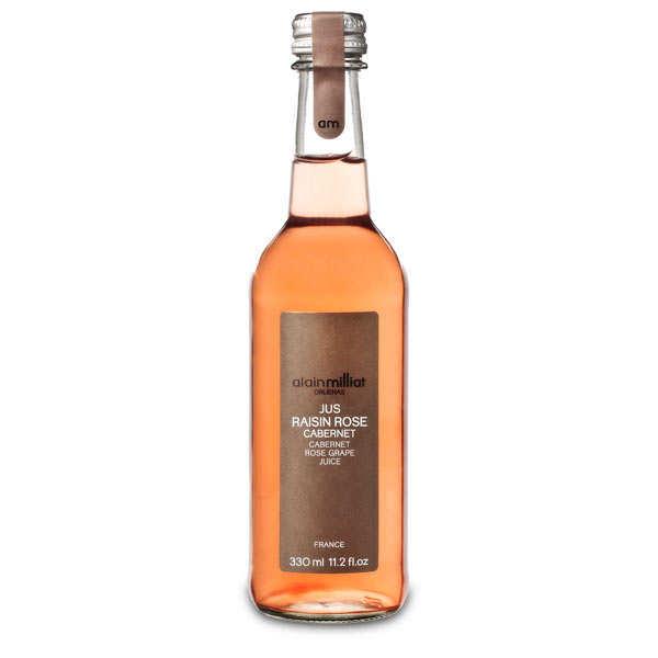 Alain Milliat Jus de raisin rosé Cabernet Alain Milliat - 6 bouteilles de 1L