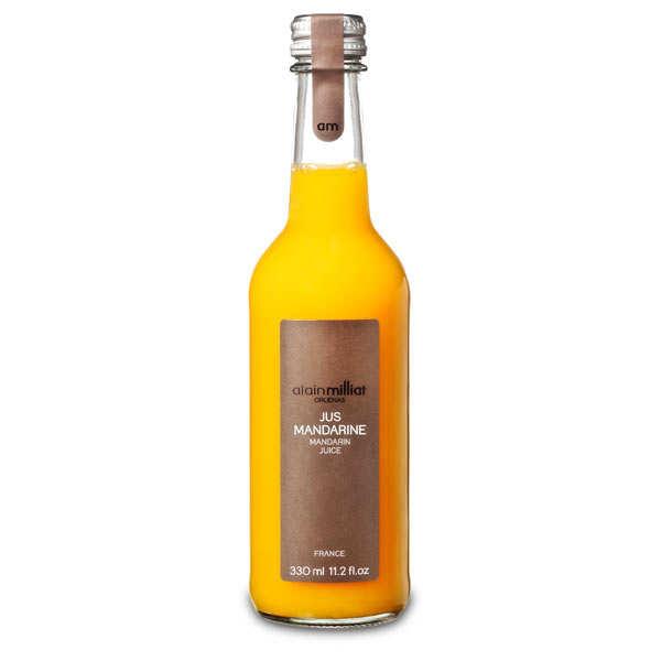 Alain Milliat Pur jus de mandarine de Sicile Ciaculli - Alain Milliat - 3 bouteilles de 1L