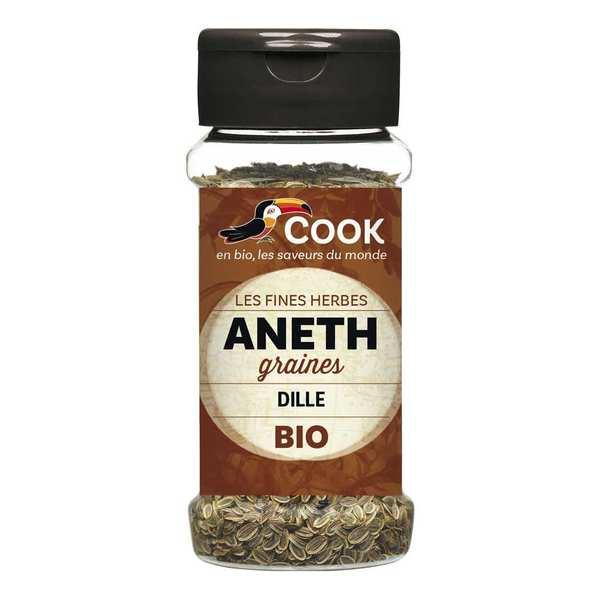 Cook - Herbier de France Aneth graines bio - Lot 6 flacons de 35g