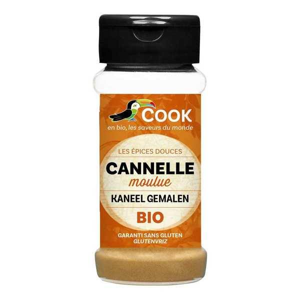Cook - Herbier de France Cannelle en poudre bio - Flacon 30g
