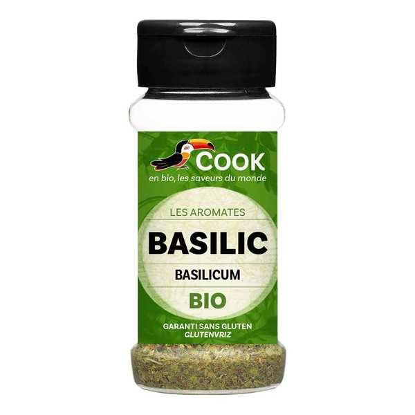 Cook - Herbier de France Basilic feuilles bio - Flacon15g