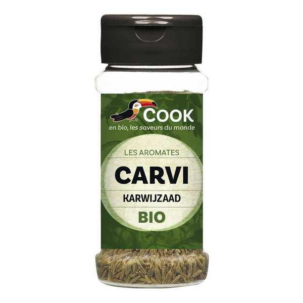 Cook - Herbier de France Carvi graines bio - Flacon45g
