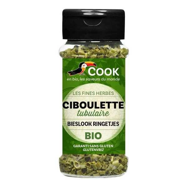 Cook - Herbier de France Ciboulette déshydratée bio - Lot de 3 flacons de 5g