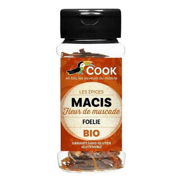Cook - Herbier de France Macis entier bio - Flacon15g