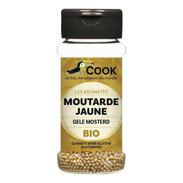 Cook - Herbier de France Graines de moutarde jaune bio - 3 flacons de 60g